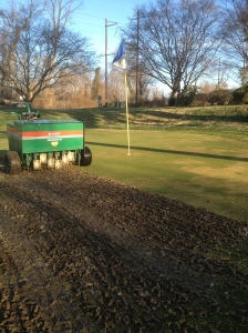 Green aeration 14