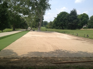 SGA tee ready for sod
